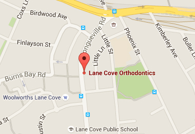 Lane Cove Orthodontics location